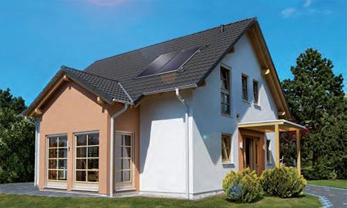 Solární panely a kolektory na ohřev vody